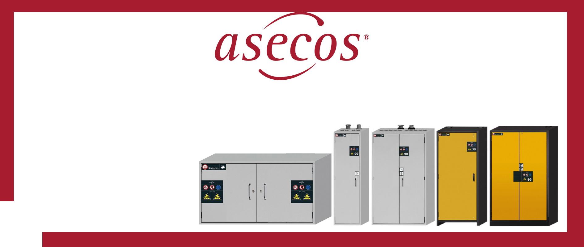 Asecos Germany Safety storage cabinets