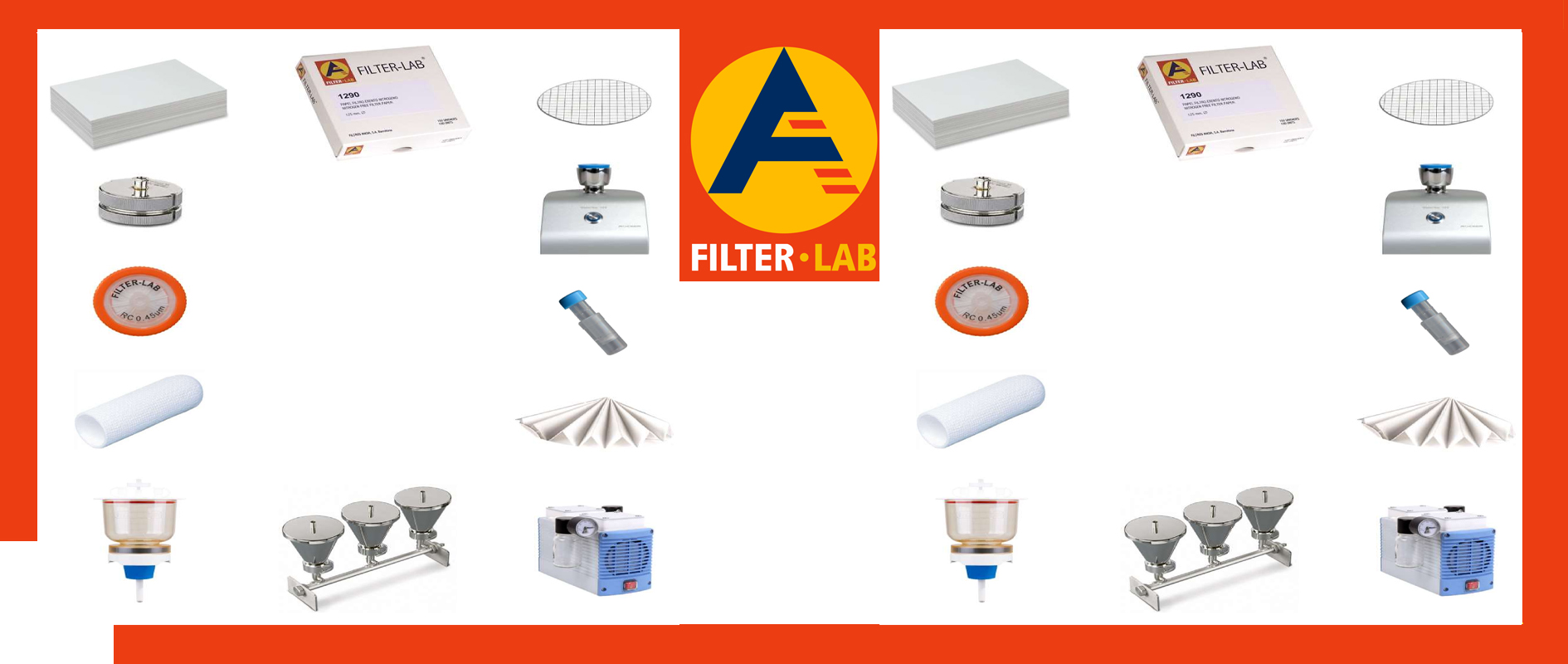 FILTER PAPERS – Glass and quartz microfiber filters – PH indicators – Cellulose Stoppers – Membrane Filters – Microbiological Filtration unit – Filtration system WaterVac 100.